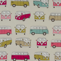 VW Camper Pink Curtains