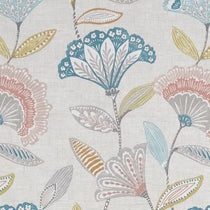 Bohemia Coral Teal Curtains