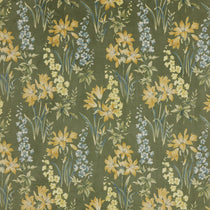 Botanical Studies Olive Velvet Curtains