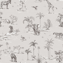 Safari African Grey Roman Blinds