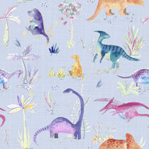 Dinos Violet Fabric by the Metre