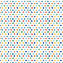 Dotty Primary Fabric by the Metre