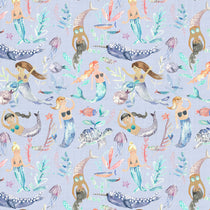 Mermaid Party Violet Fabric by the Metre