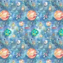 Out Of This World Sky Fabric by the Metre