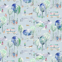 Park Life Sky Fabric by the Metre