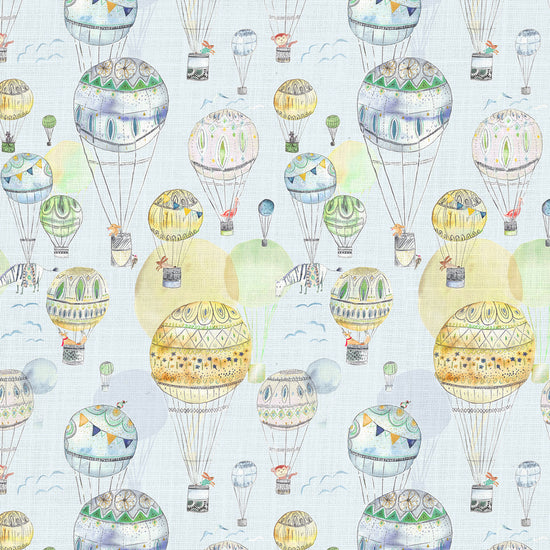 Up And Away Citrus Curtains