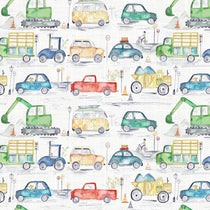 Traffic Jam Primary Fabric by the Metre