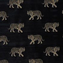 Tiger Noir Fabric by the Metre