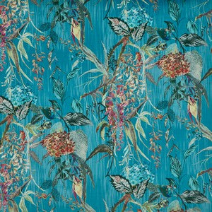 Botanist Peacock 3913-788 Curtains