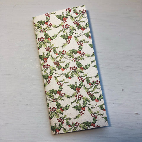 Holly & Berries Hobonichi Weeks Size Notebook