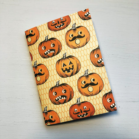 Jack O Lantern Passport Size Notebook
