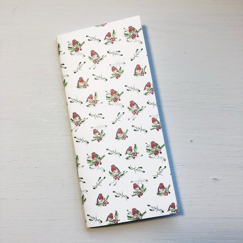 Robin & Holly Hobonichi Weeks Size Notebook