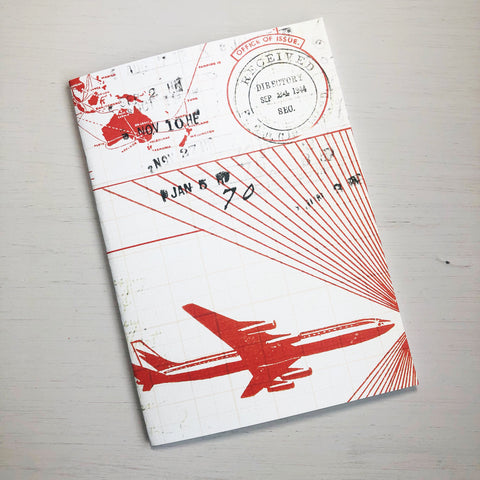 Vintage Airline B6 Size Notebook