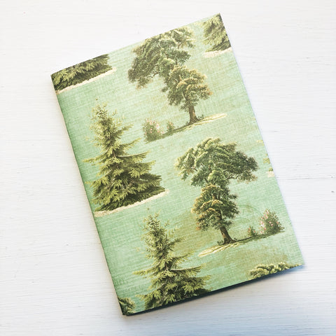 Trees Passport Size Notebook