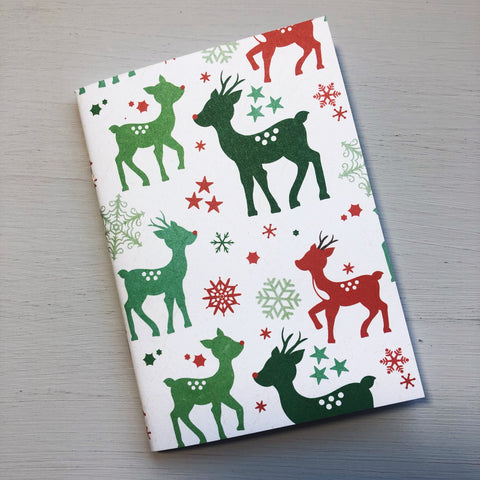 Rudolph The Red Nose Reindeer Passport Size Notebook