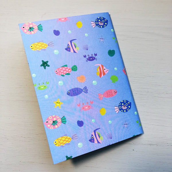 Cute Fish A6 Notebook