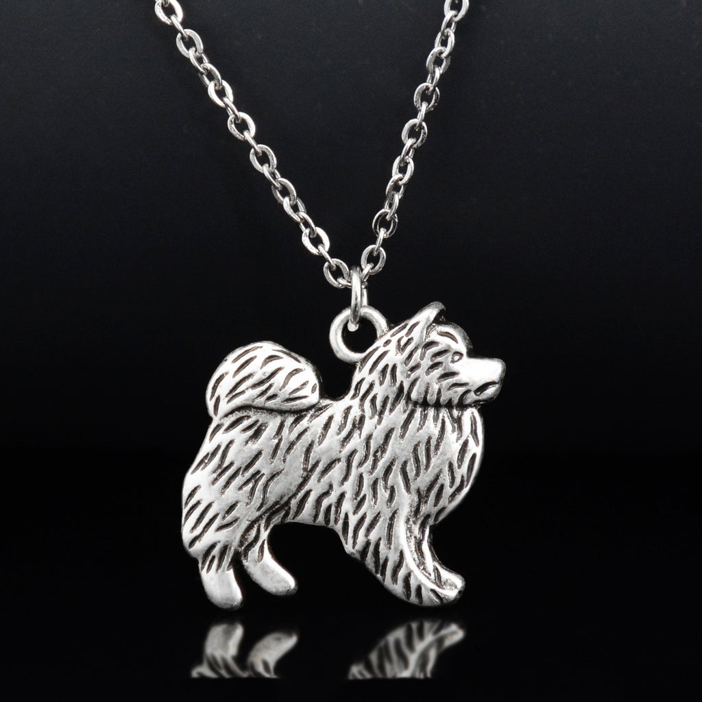 Schipperke Vintage Necklace