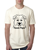 Australian Shepherd Papa Men's T-Shirt
