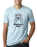 Bloodhound Papa Men's T-Shirt