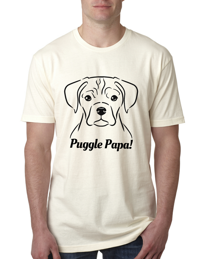 Puggle Papa Men's T-Shirt