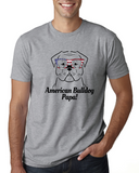 American Bulldog Papa Men's T-Shirt