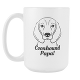 Coonhound Papa! Coffee Mug