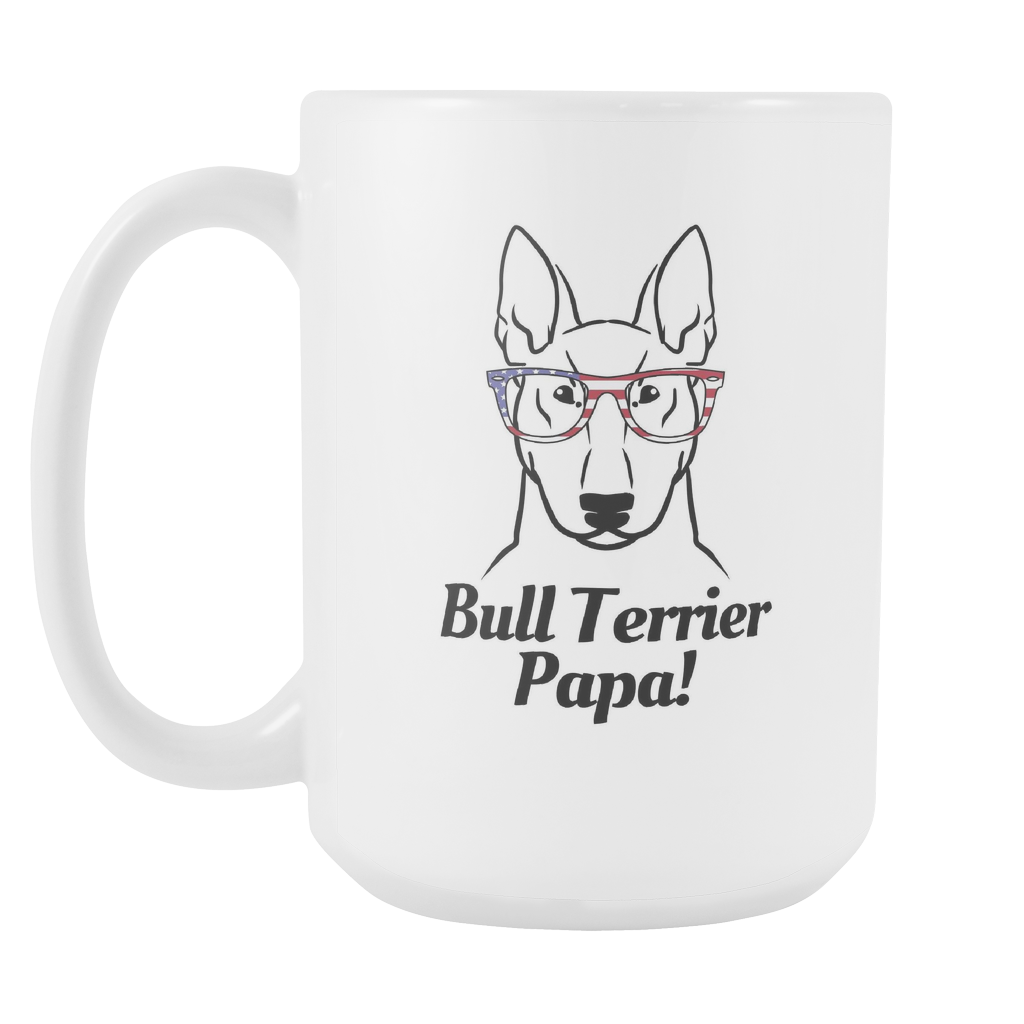 Bull Terrier Papa! Coffee Mug