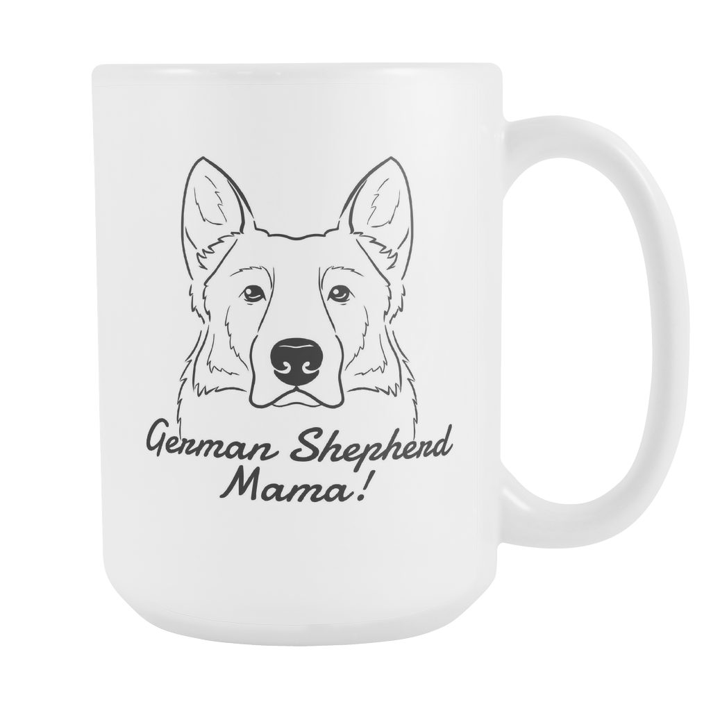 German Shepherd Mama! Coffee Mug