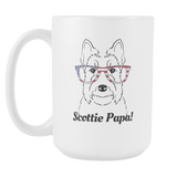 Scottish Terrier Papa! Coffee Mug