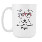 Russell Terrier Papa! Coffee Mug