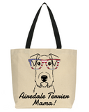 Airedale Terrier Mama Tote Bag