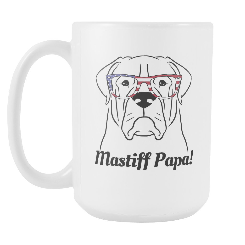 Mastiff Papa! Coffee Mug