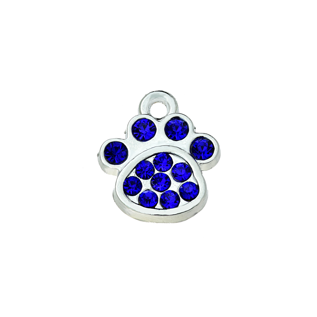Colored Paw Charm