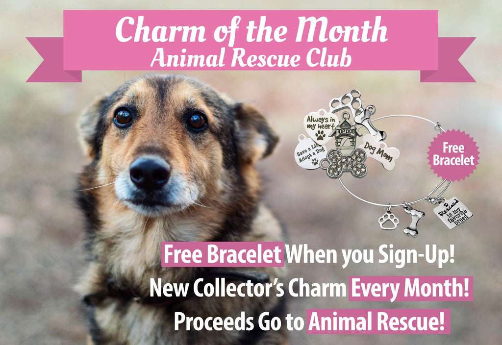 'Charm of the Month' Animal Rescue Club