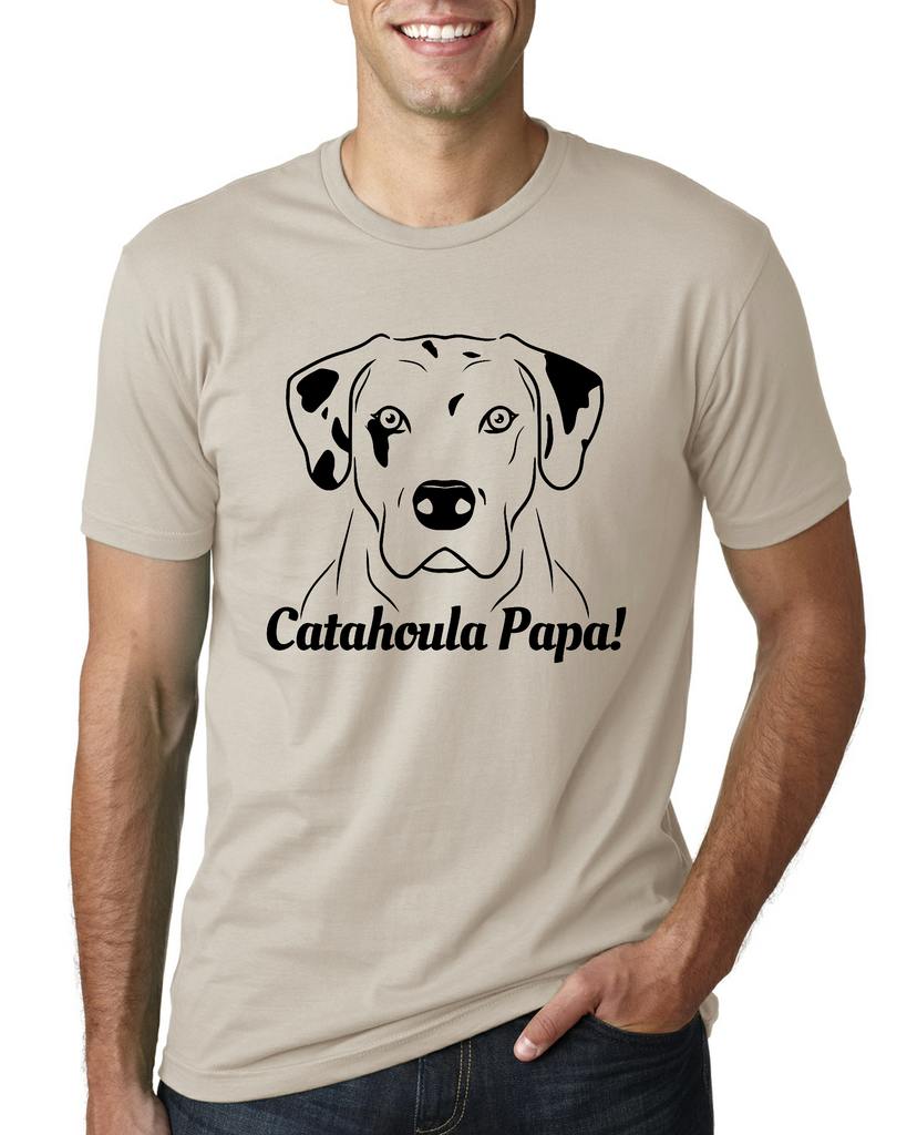 Catahoula Papa Men's T-Shirt