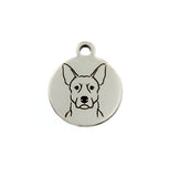 Australian Cattle Dog Portrait Charm