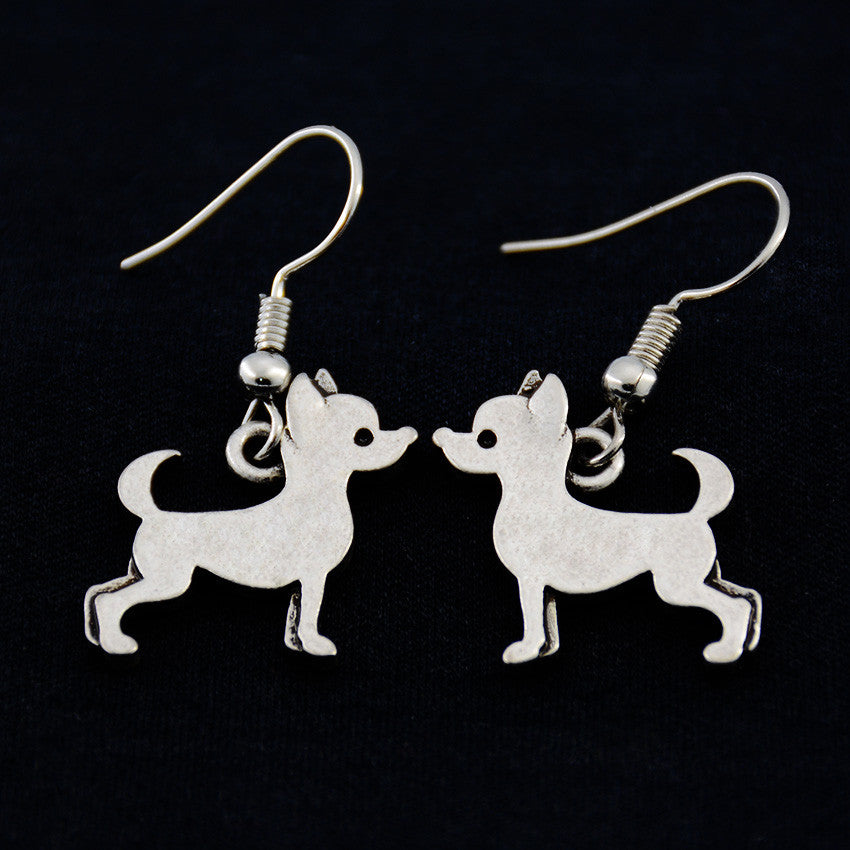 Chihuahua Vintage Earrings