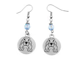 Cocker Spaniel Portrait Earrings