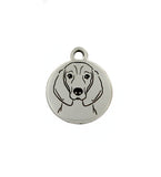 Coonhound Portrait Charm
