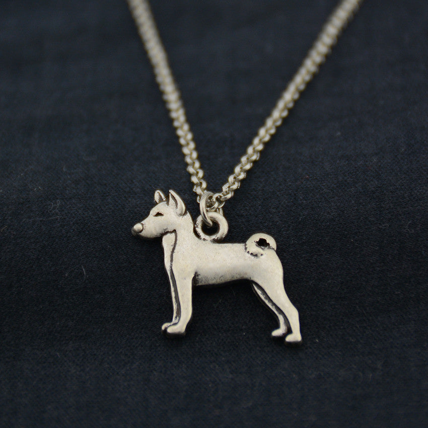 Basenji Vintage Necklace