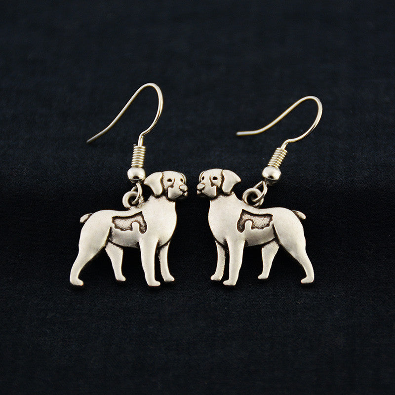 Brittany Spaniel Vintage Earrings