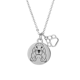 Cocker Spaniel Portrait Necklace
