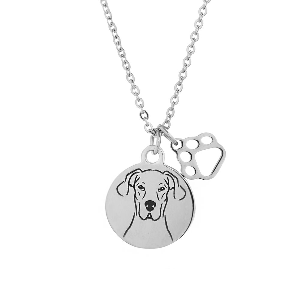 Great Dane Portrait Necklace