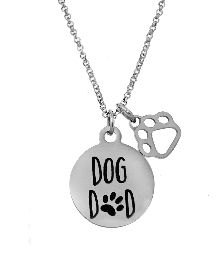 'Dog Dad' Necklace