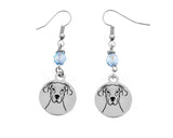 Great Dane Portrait Earrings