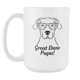 Great Dane Papa! Coffee Mug
