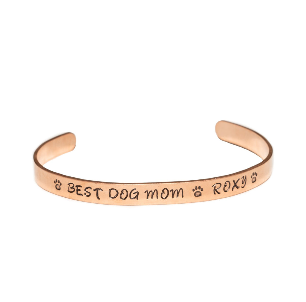 Personalized Copper Cuff Bangle