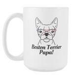 Boston Terrier Papa! Coffee Mug