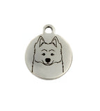 Samoyed Portrait Charm