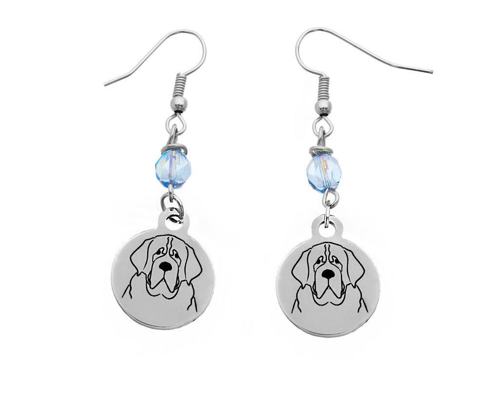 St. Bernard Portrait Earrings